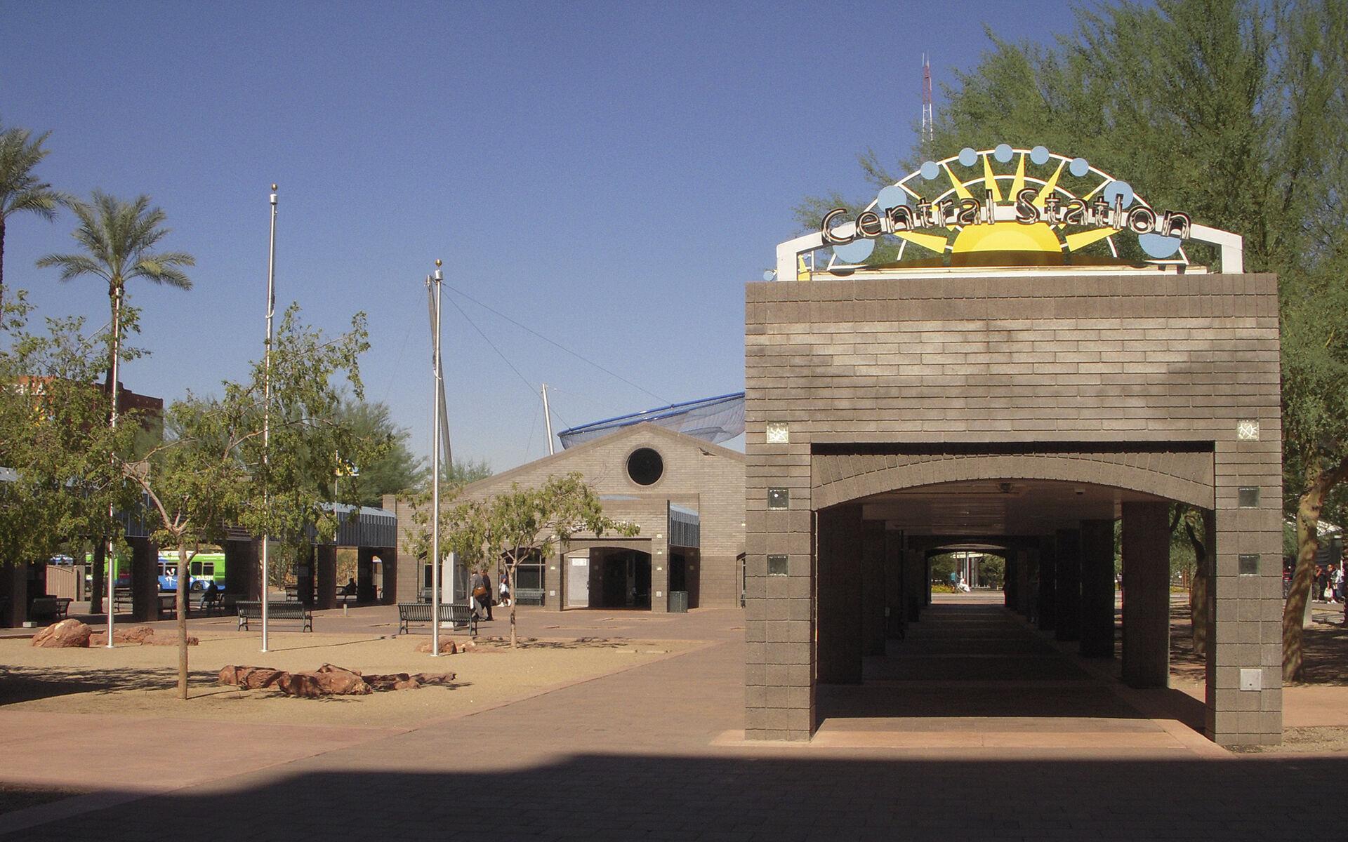Phoenix Central Avenue Transit Station