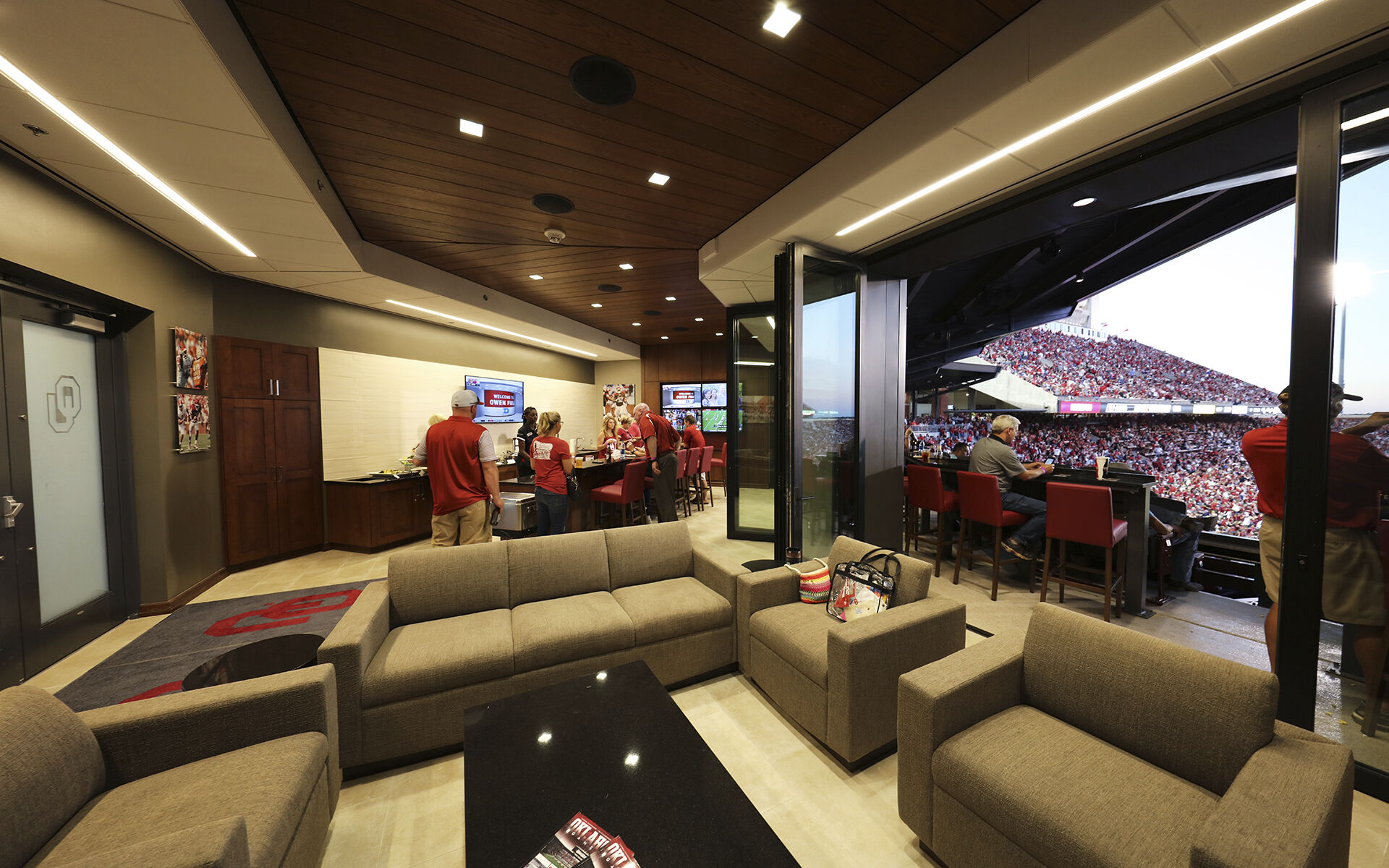 Gaylord Family Memorial Stadium South End Zone Expansion - University of Oklahoma