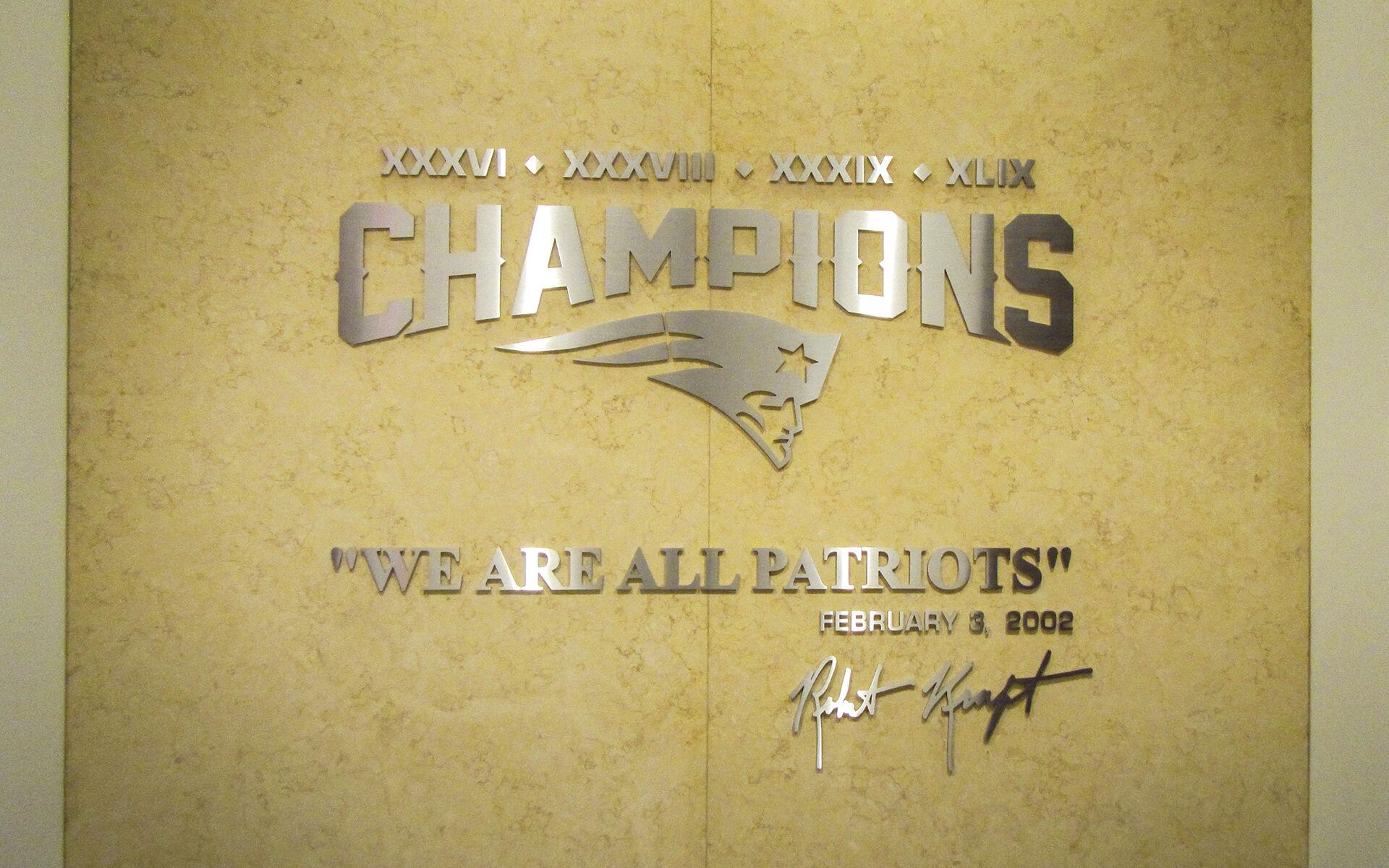 Gillette Stadium Improvements - New England Patriots