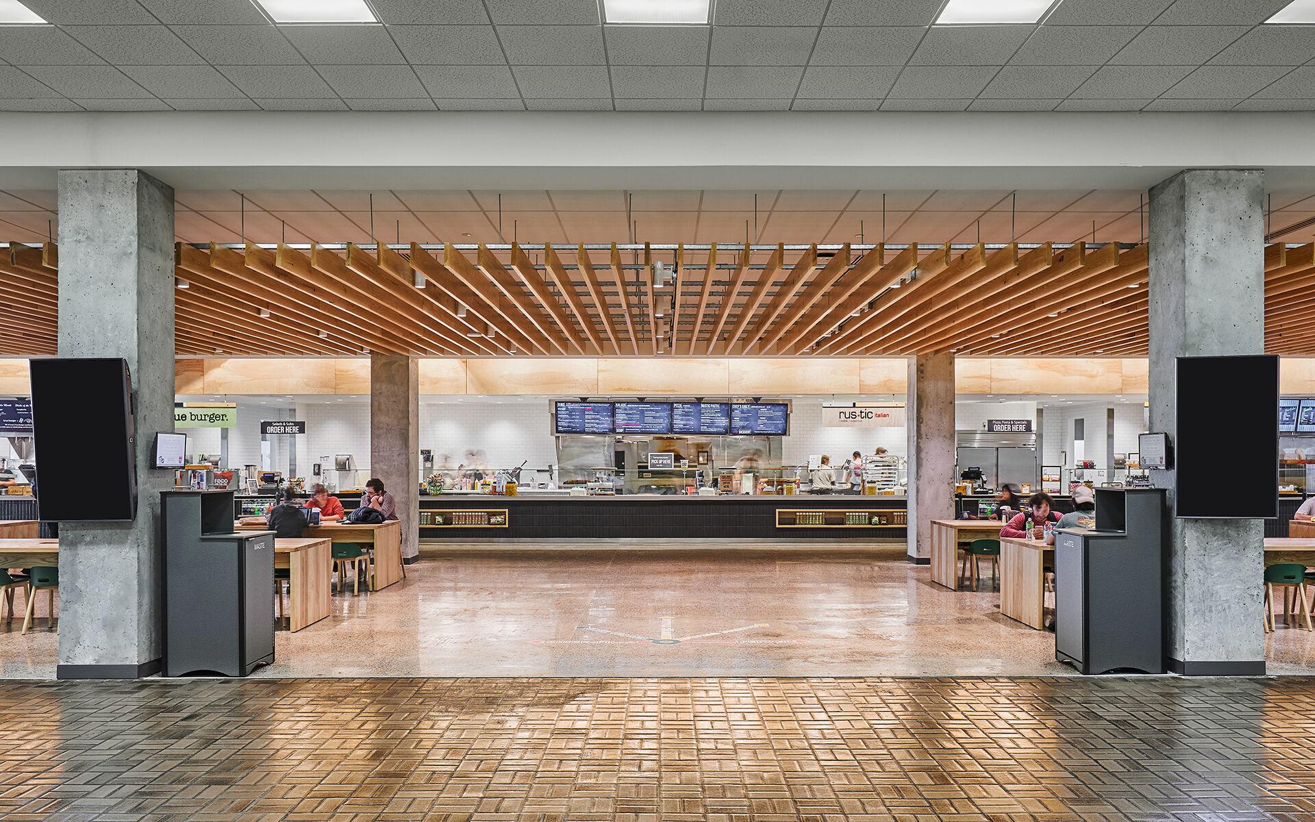 Student Union Food Court Renovation - University of Arkansas