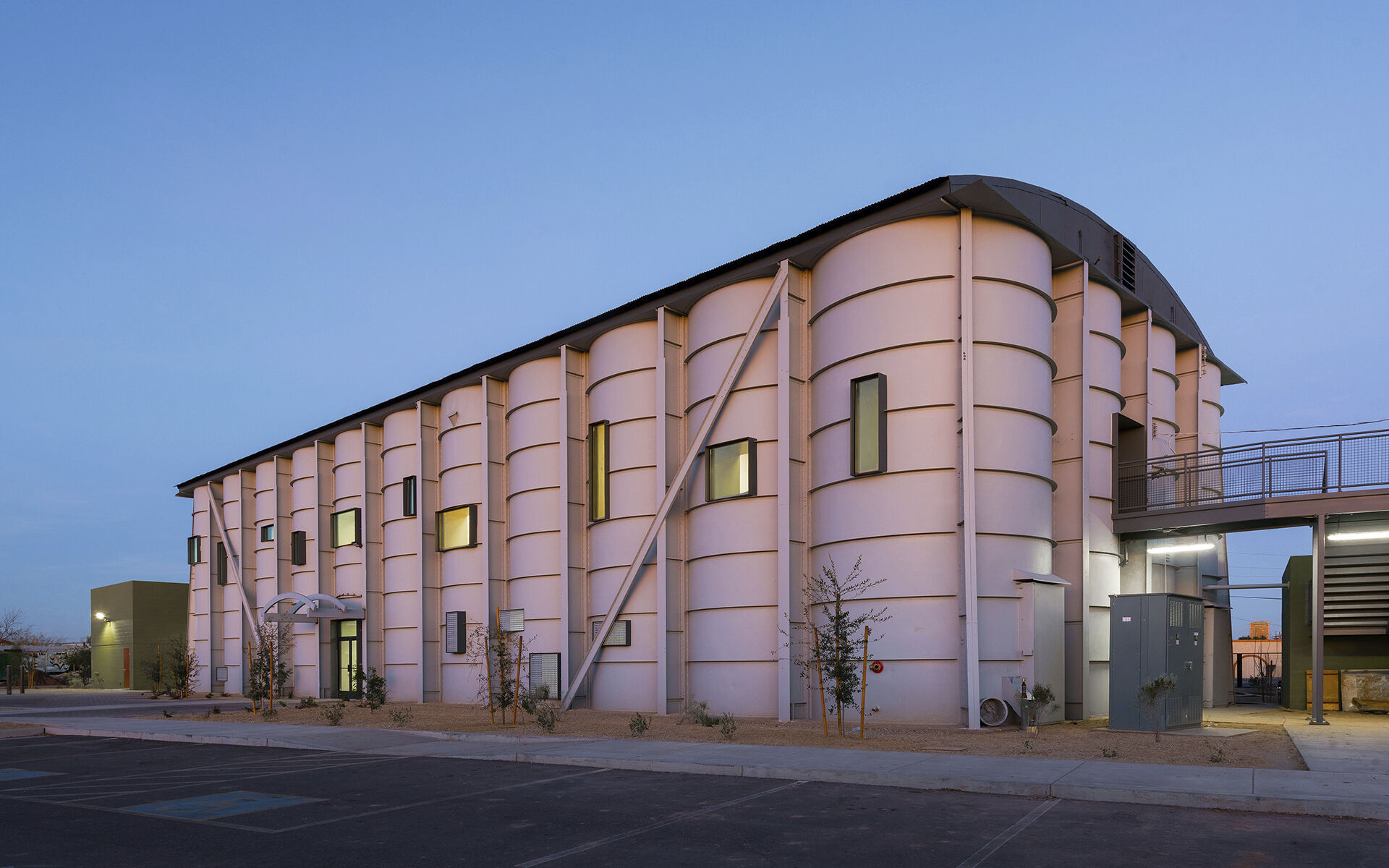 Silos Classroom Building - Neighborhood Ministries