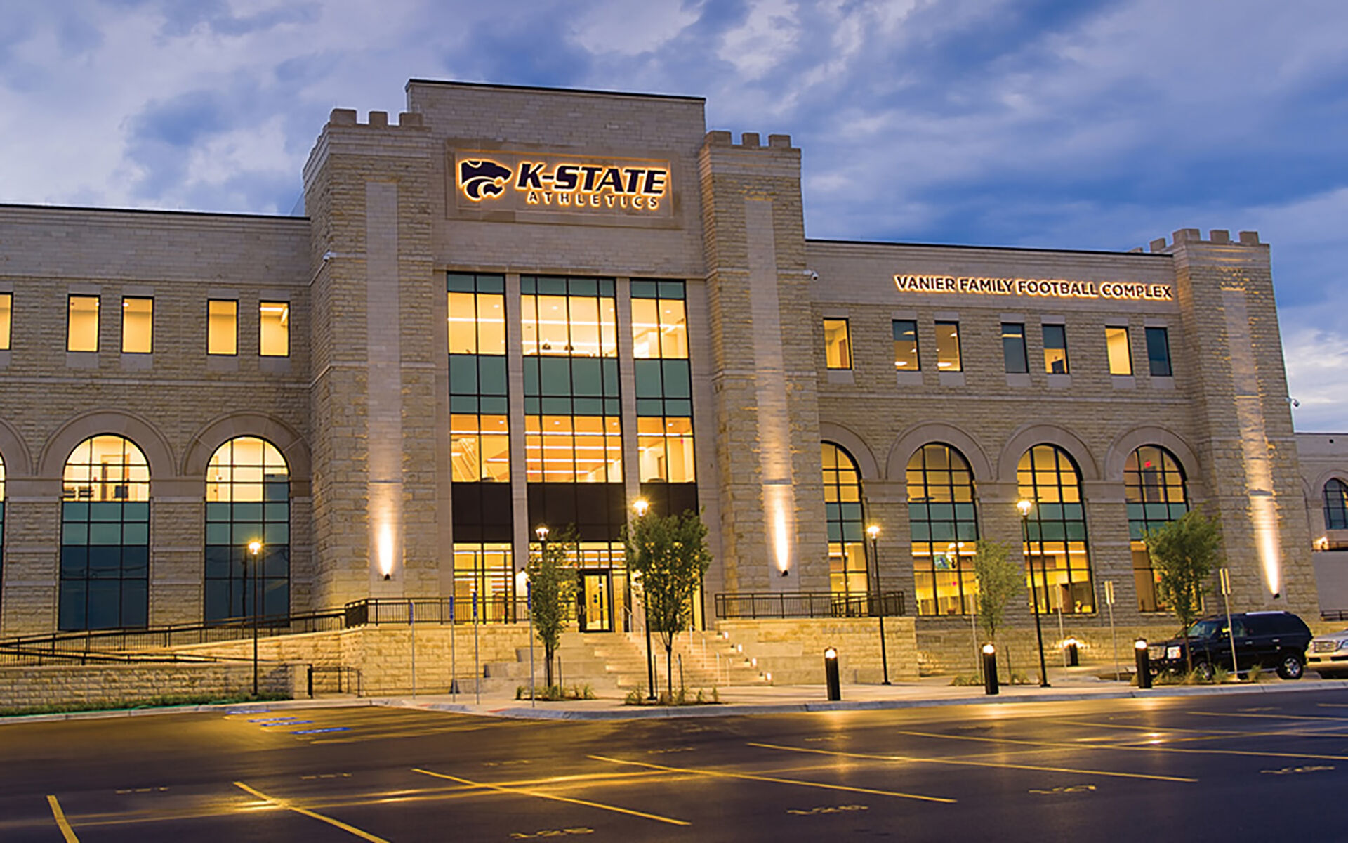 Vanier Family Football Complex & Bill Snyder Family Football Stadium North End Zone - Kansas State University