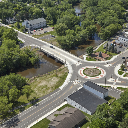 Image of CSAH 10 River Crossing in Watertown, Carver County, Minnesota