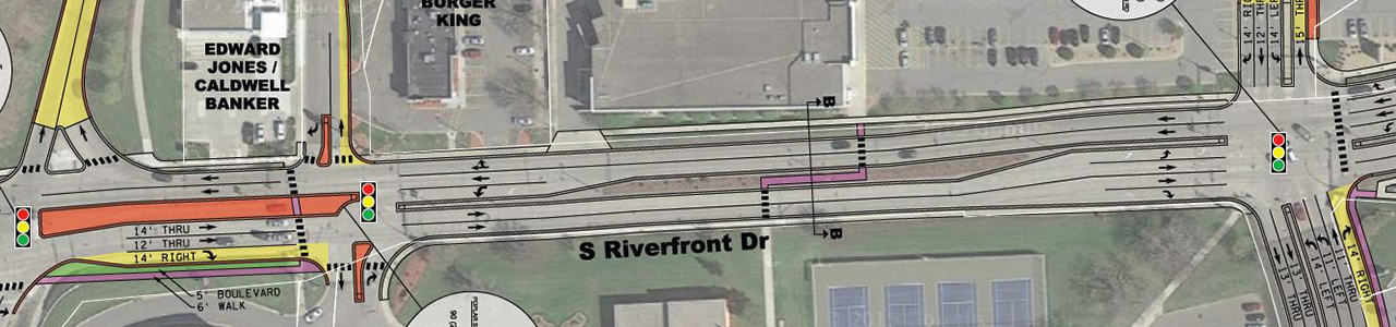 Riverfront Drive Corridor Study, Mankato/North Mankato Area Planning Organization
