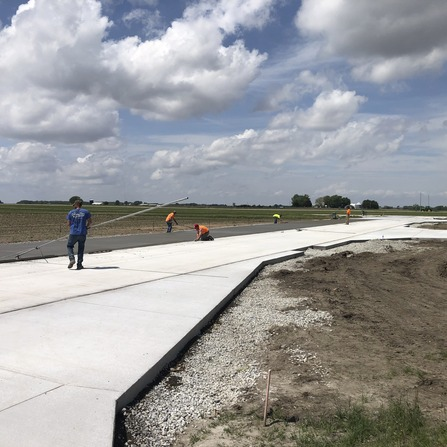 Image of Taxiway Construction, City of Independence, Iowa
