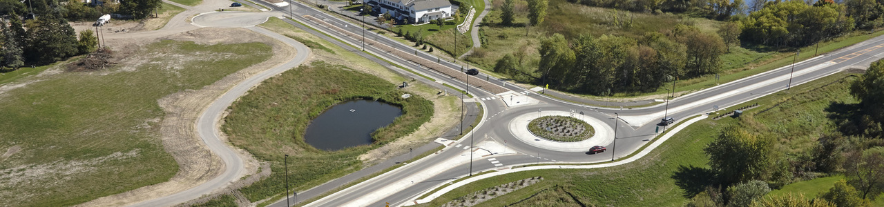 Settlers Parkway Collection and Reuse of Stormwater for Onsite Irrigation, City of Buffalo, Minnesota
