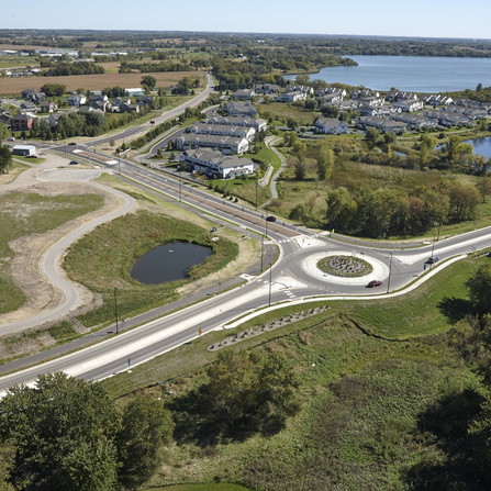 Image of Settlers Parkway Collection and Reuse of Stormwater for Onsite Irrigation, City of Buffalo, Minnesota