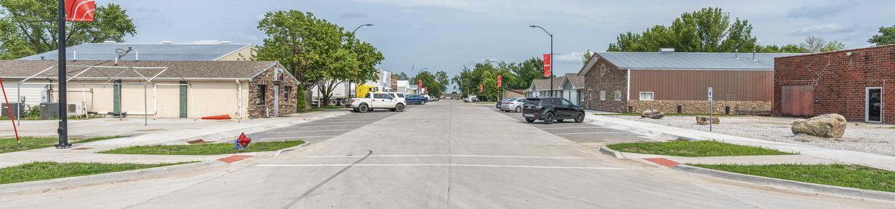 Main Street Reconstruction, City of Elkhart, Iowa