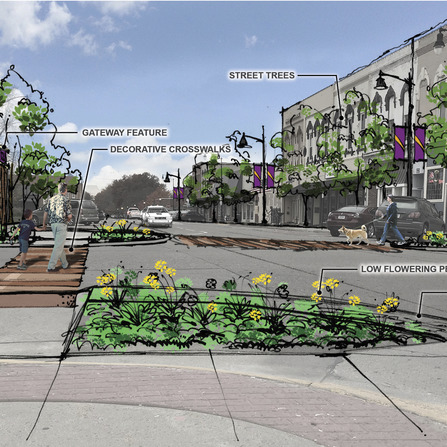 Image of Square Streetscape Master Plan, City of Indianola, Iowa