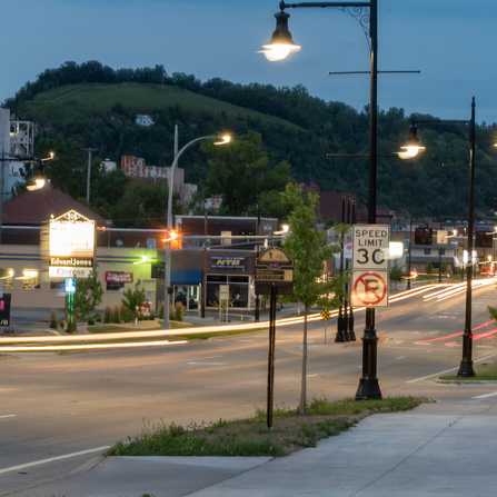 Image of Downtown Lighting, City of Red Wing, Minnesota