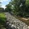 Project shot of Jordan Creek Greenway Stabilization