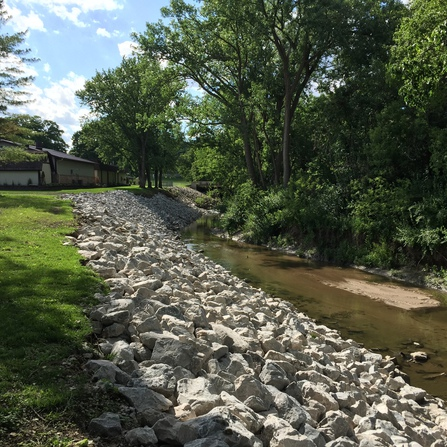 Image of Jordan Creek Greenway Stabilization, City of West Des Moines, Iowa