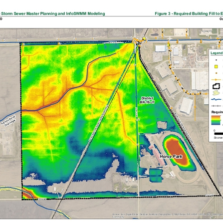 Image of Storm Sewer Master Plan and InfoSWMM Modeling, City of Fargo, North Dakota