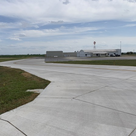 Image of Taxiway D Reconfiguration, City of Clinton, Iowa