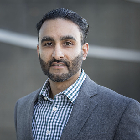 Professional headshot of Silas Parmar
