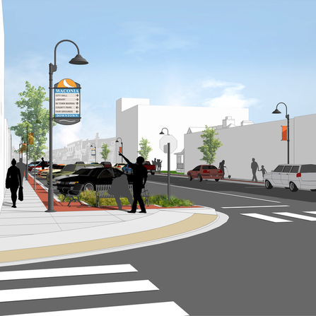Project shot of Downtown Master Plan