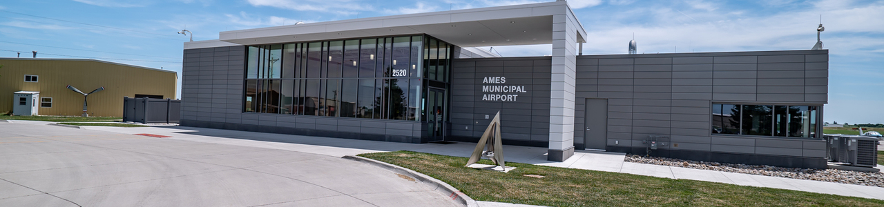 Ames Municipal Airport Terminal Building and Parking Lot, City of Ames, Iowa