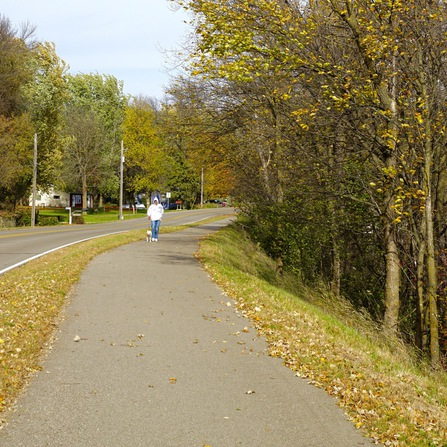Image of Lake Koronis Recreational Trail, City of Paynesville, Minnesota