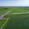 Project shot of Taxiway C Extension