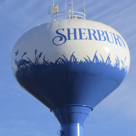 Image of Water Tower Rehabilitation, City of Sherburn, Minnesota