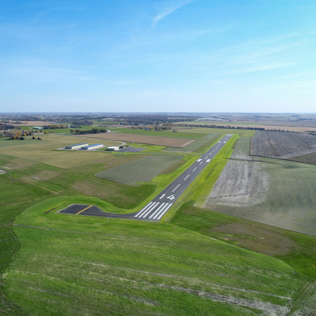 Image of Runway 14/32 Reconstruction & Widening, City of Sauk Centre, Minnesota