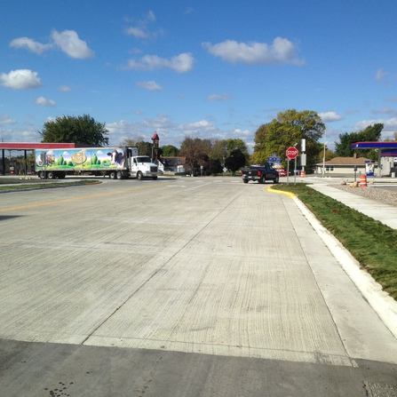 Image of TH 5/TH 19/TH 22 Reconstruction in Gaylord, MnDOT District 7