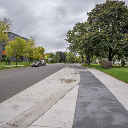 Image of Cedar Lake Road Bikeway Study, City of St. Louis Park, Minnesota
