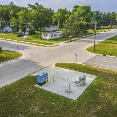 Image of Infrastructure Improvements, City of Ostrander, Minnesota