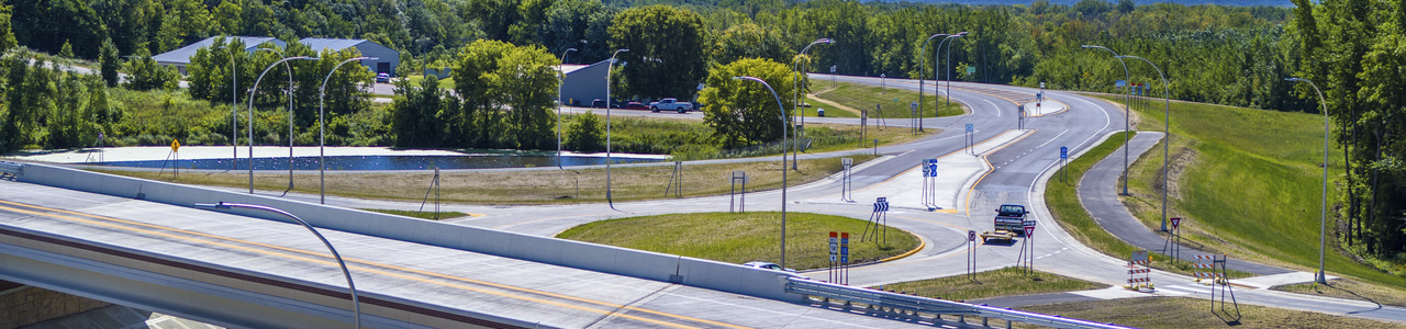 TH 14/15 Reconstruction in New Ulm, MnDOT District 7