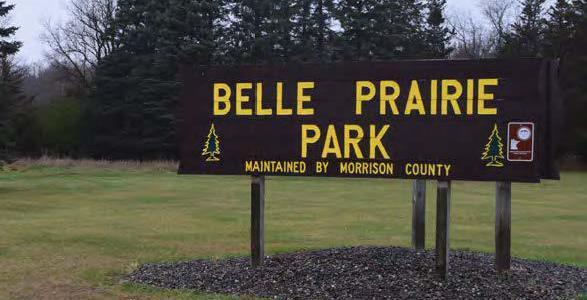 Belle Prairie County Park Master Plan, Morrison County, Minnesota