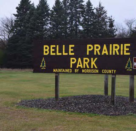 Project shot of Belle Prairie County Park Master Plan