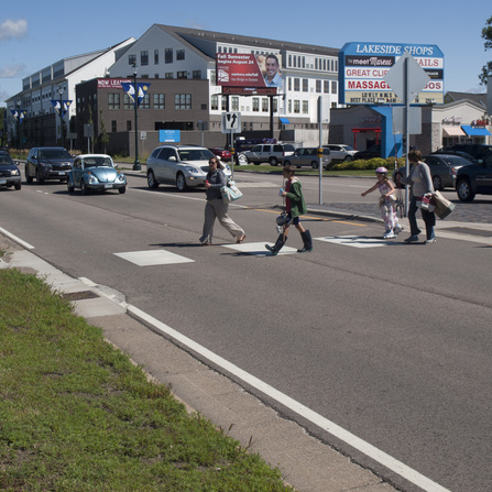 Image of Highway 61 Streetscape Improvements, City of White Bear Lake, Minnesota