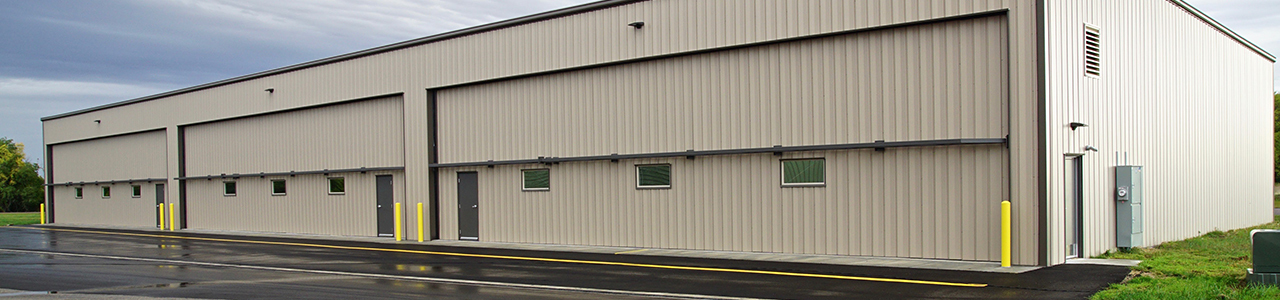 210-Foot by 70-Foot Multi-Bay Airport Hangar, City of Wheaton, Minnesota