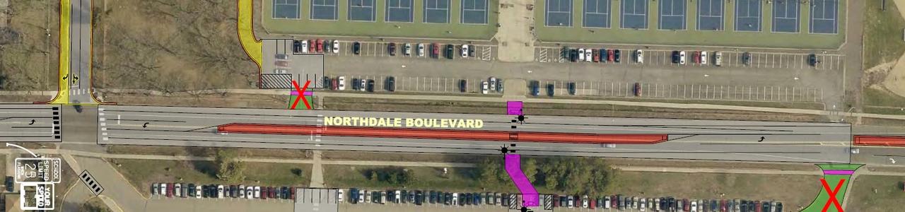 Northdale Boulevard Traffic Analysis, City of Coon Rapids, Minnesota