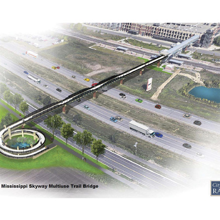 Image of Mississippi Skyway Final Design, City of Ramsey, Minnesota