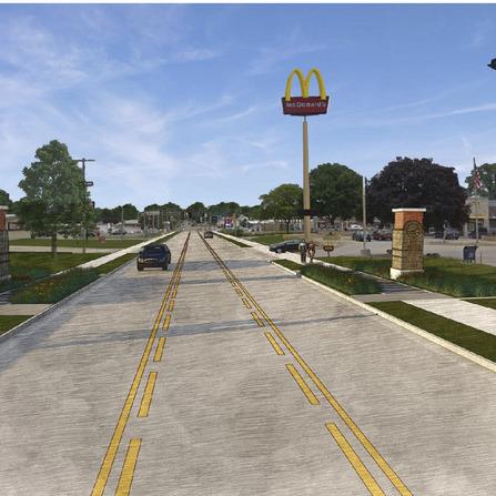Image of Platt Street Corridor, City of Maquoketa, Iowa