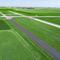Project shot of Runway 11/29 and 18/36 Pavement Rehabilitation
