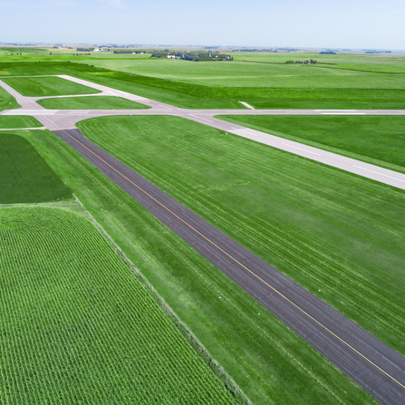 Image of Runway 11/29 and 18/36 Pavement Rehabilitation, City of Worthington, Minnesota