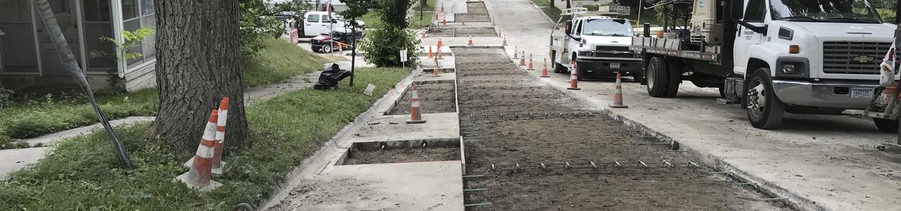 Waite Park Concrete Pavement Rehabilitation, City of Minneapolis, Minnesota