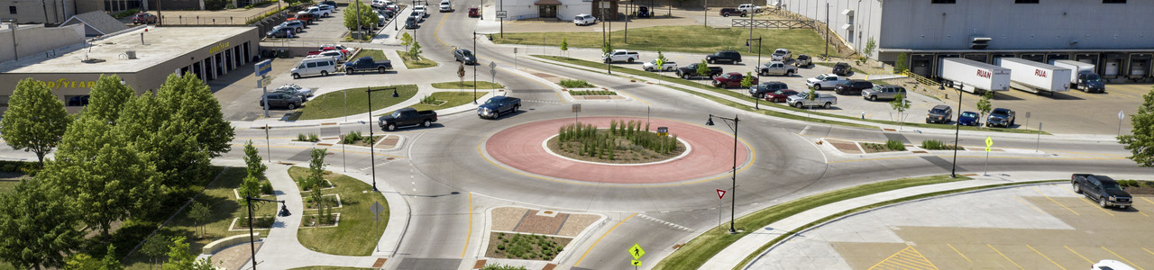 Mulberry Avenue Roundabout and 2nd Street One-Way to Two-Way Conversion, City of Muscatine, Iowa