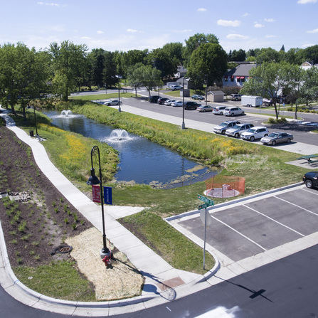 Image of Fountain Park Improvements, City of Waconia, Minnesota