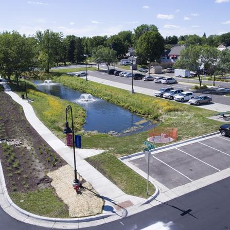 Image of Fountain Park Improvements, City of Waconia, Minnesota