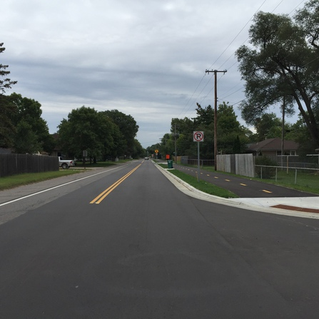 Image of 57th Avenue Rehabilitation and Twin Lakes Regional Trail, Three Rivers Park District and City of Brooklyn Center, Minnesota