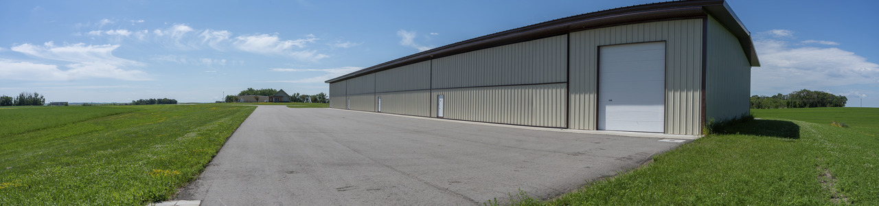 8 Unit T-Hangar, City of Hawley, Minnesota