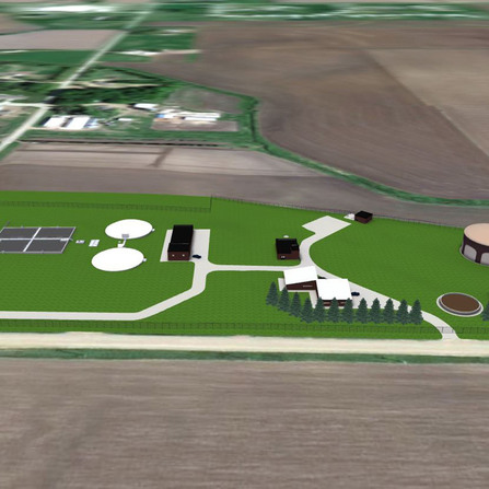 Image of Wastewater Treatment Improvements 3D Model, City of Sioux Center, Iowa