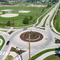 Project shot of Kirkwood Boulevard Roundabout
