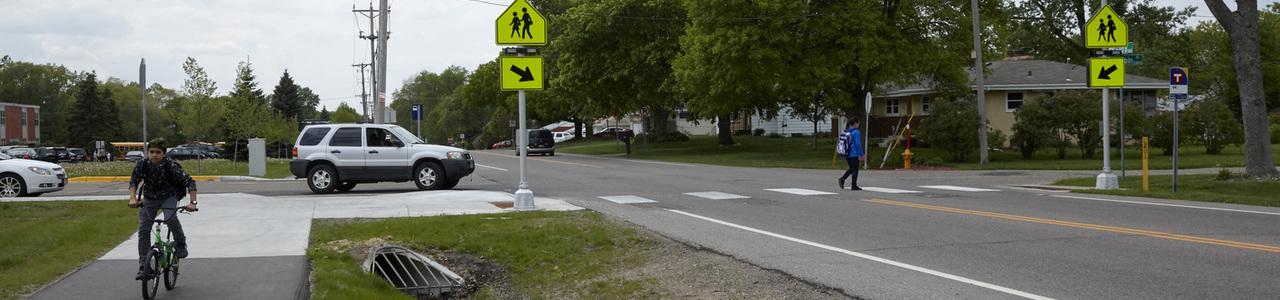 County Road B Trail Improvements, City of Maplewood, Minnesota