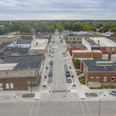 Image of Dodge Street Improvements, City of Algona, Iowa