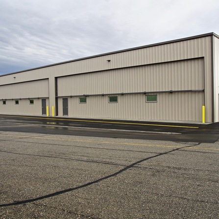 Image of 210-Foot by 70-Foot Multi-Bay Airport Hangar, City of Wheaton, Minnesota