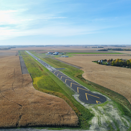 Image of Runway 15/33 Reclamation, City of Granite Falls, Minnesota